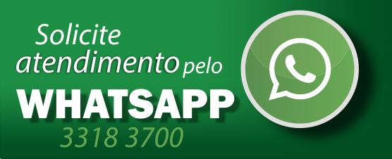 Solicite atendimento pelo Whatsapp 3318 3700.